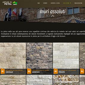 ABITARE IN PIETRA - sito web
