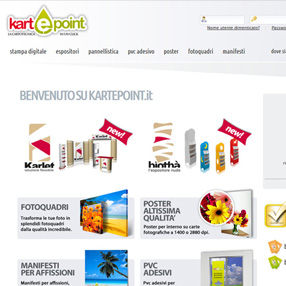 KARTEPOINT - sito e-commerce