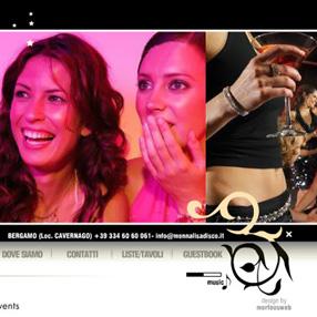 MONNALISA Disco - sito web + servizio fotografico