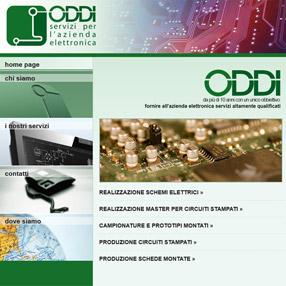 ODDI MASTER - sito web